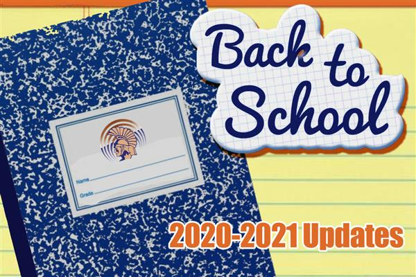 Back to School Updates graphic