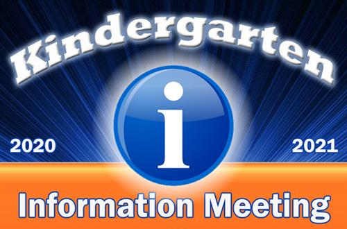 Kindergarten Information Meeting Graphic