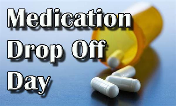 Medication Drop Off Day graphic