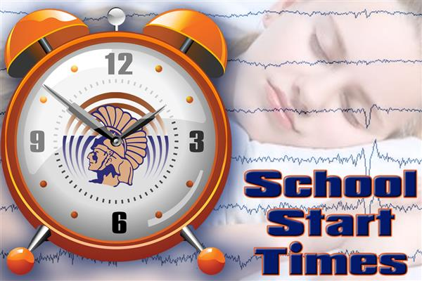School Start Time graphic