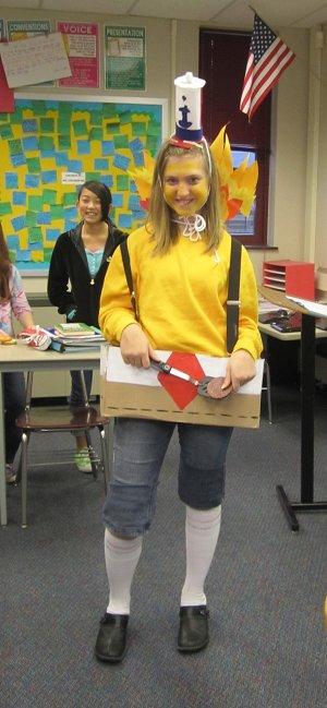 Carlin as Spongebob Turkey