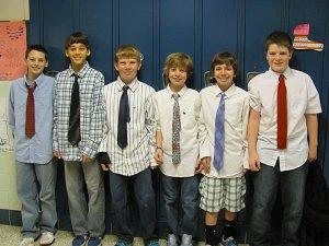Guys in Ties!