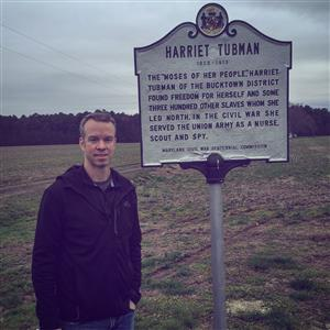 Harriet Tubman birthplace visit