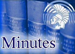 DTSD Board Minutes