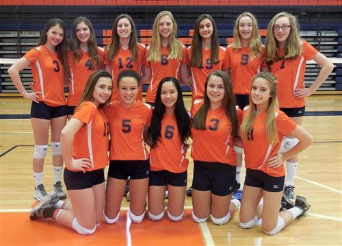 Girls Volleyball Hs Junior High Volleyball