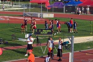 2009 Boys 4x400 School Record