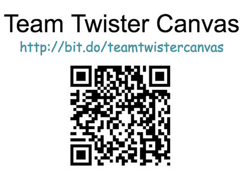 Team Twister Canvas