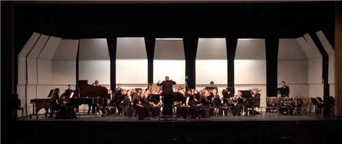 Mr. Buterbaugh conducting Hershey HS Wind Symphony (2017)