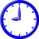 Clock graphic